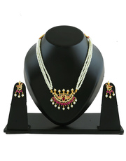 Festive Diwali Sale: Shop Moti necklace at best price.